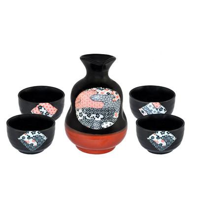 Orientalny zestaw do sake dla 4 osób