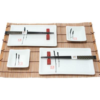 Japoński 2 osobowy zestaw do sushi